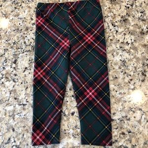 Ralph Lauren plaid leggings